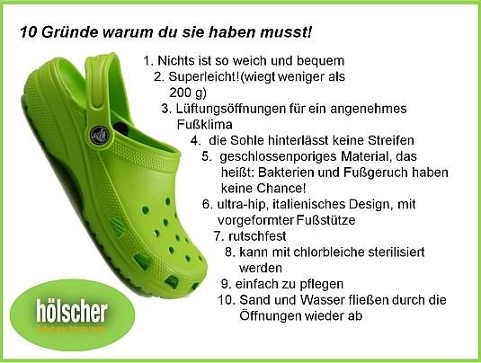 crocs - 10 Gründe dafür von Schuh Hoelscher